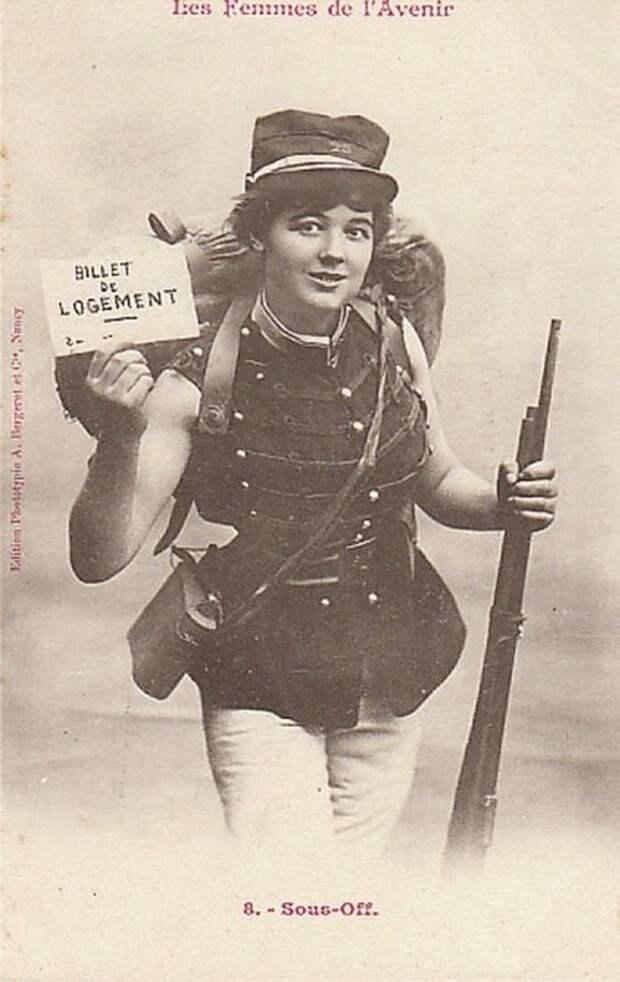 Офицер женщины, прогресс, профессии, феминизм