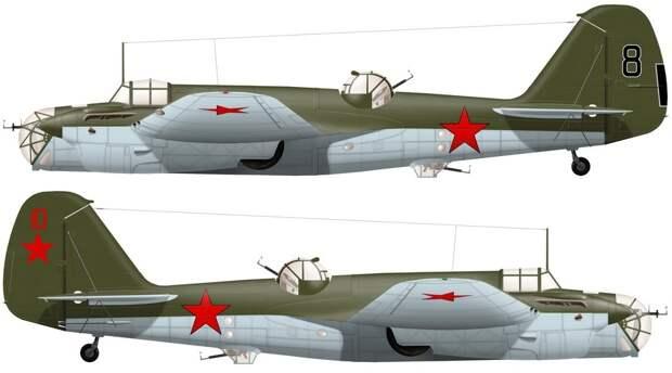 Реконструкция внешнего вида бомбардировщиков СБ из 128-го СБАП - «Бить танки противника до полного их уничтожения…» | Warspot.ru