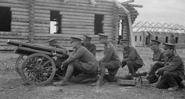 Артиллерия англичан