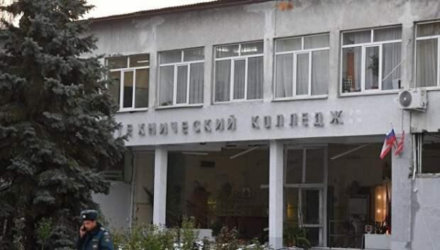 Колледж в Керчи охраняла фирма с двумя пистолетами