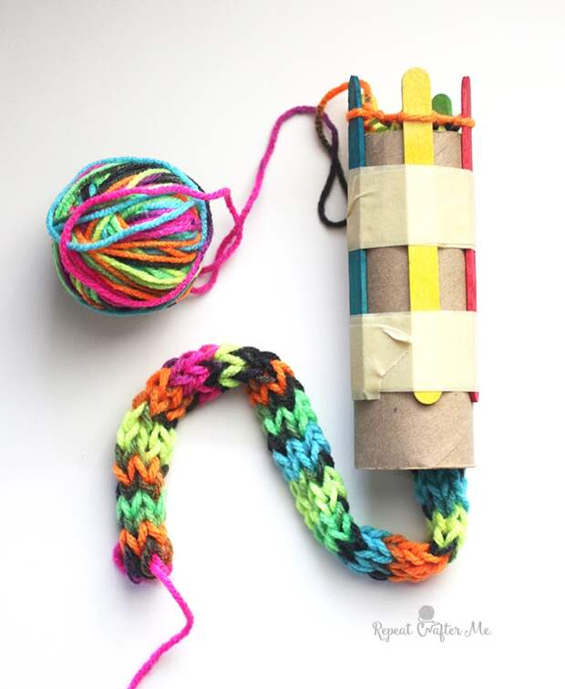 Устройство для кругового вязания своими руками (Diy)