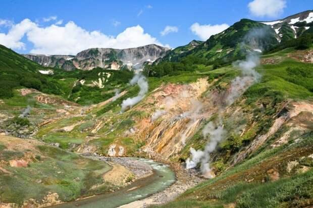 Долина гейзеров(Камчатский край) Чудеса России, природа, сооружения