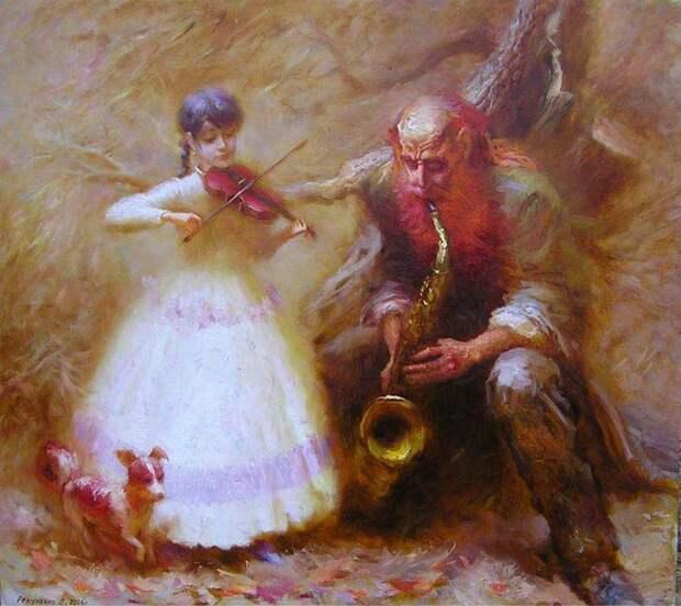 Сказочный мир Валентина Рекуненко