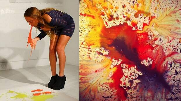 10 самых шокирующих способов, с помощью которых художники создают свои произведения