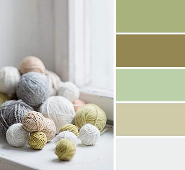 сочетание цветов в дизайне