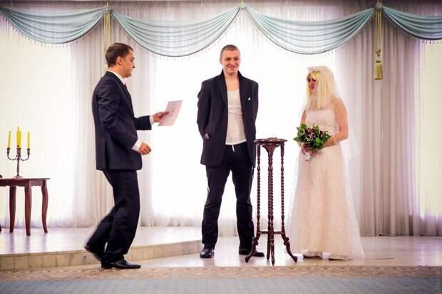 Быдлогоп-свадьба Ирины и Виталика