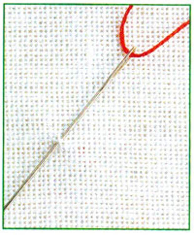 Вышивание по льняному полотну четным количеством нитей (фото 1)