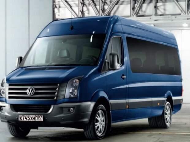 Volkswagen проверит Сrafter в России из-за проблем в трансмиссии