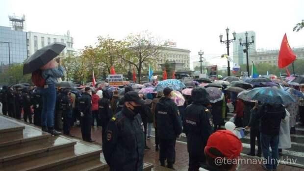 Хабаровские протесты превратились в тусовку московских либералов