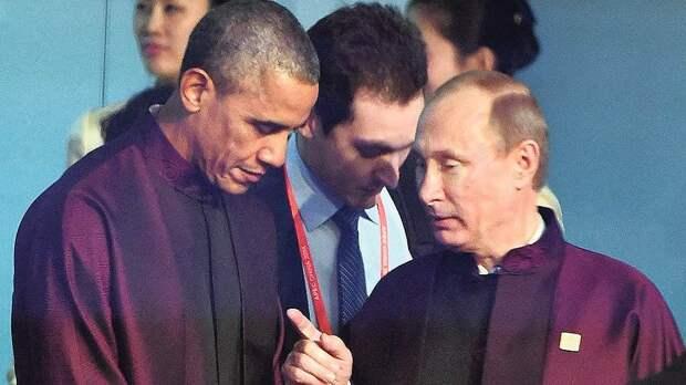 Почему так спокоен Путин. а Обама нервничает? (Заблокировано в США)