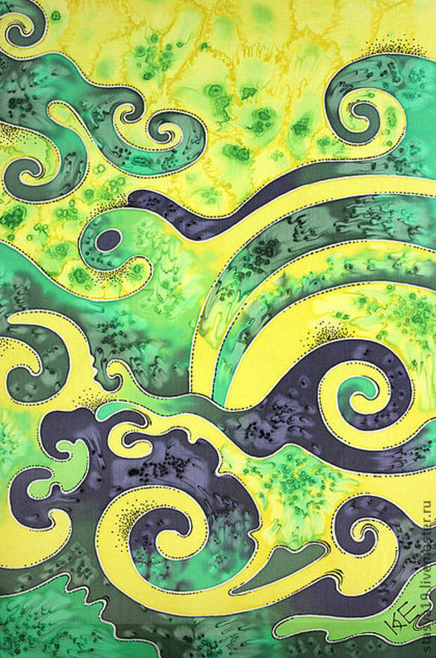 """Шарфы и шарфики ручной работы. Ярмарка Мастеров - ручная работа шарфик """"Лимония"""". Handmade."""