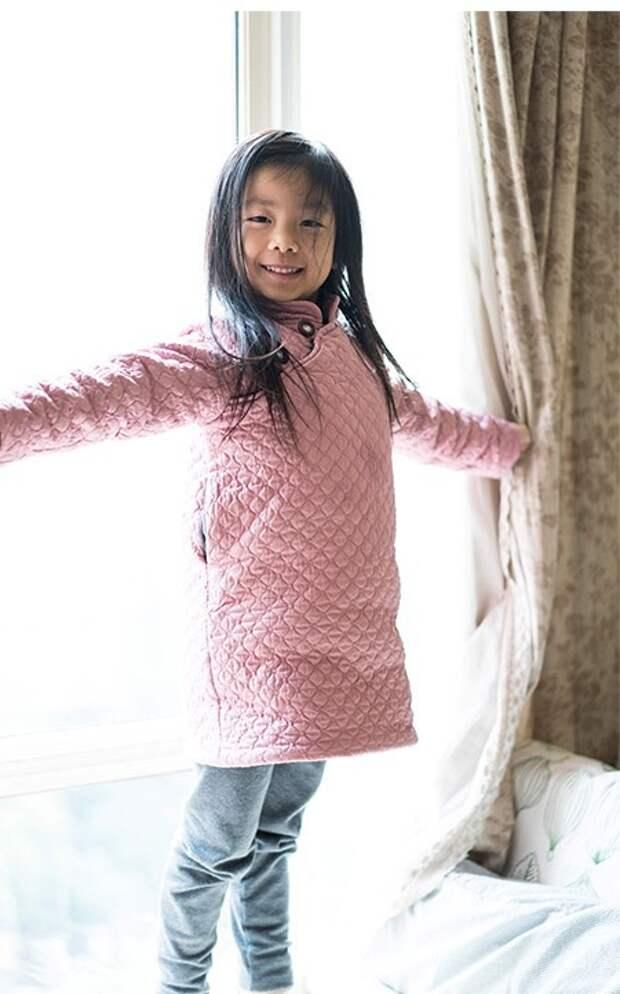 Выкройка детского платья в восточном стиле