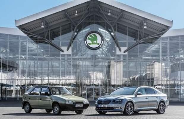 Volkswagen и Skoda празднуют серебряную свадьбу