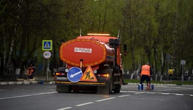 Новый асфальт уложили на 28 муниципальных дорогах в Подольске