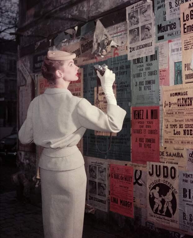 Париж 50-х годов в фотографиях Жоржа Дамбье.
