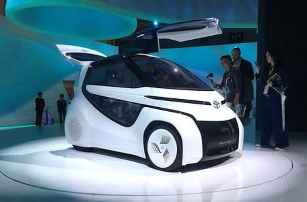 Будущее рядом: на чем японцы предлагают ездить завтра