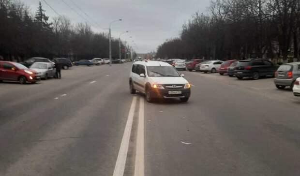 Водитель автомобиля сбил школьника-нарушителя вРостове
