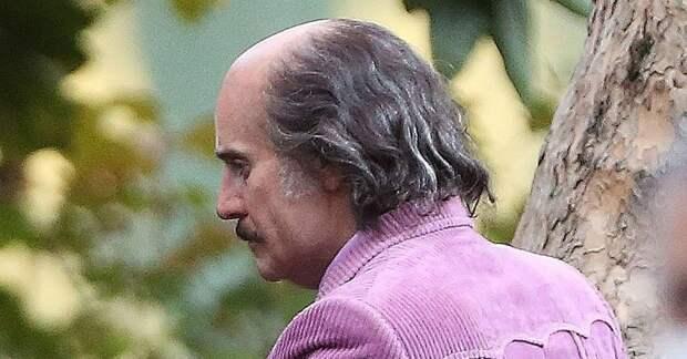 Усы и залысины: неузнаваемый Лето снимается в драме «Гуччи»