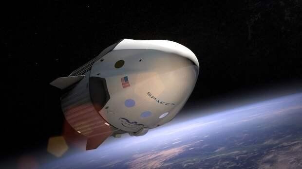Названа дата первого полета российского космонавта на SpaceX Crew Dragon