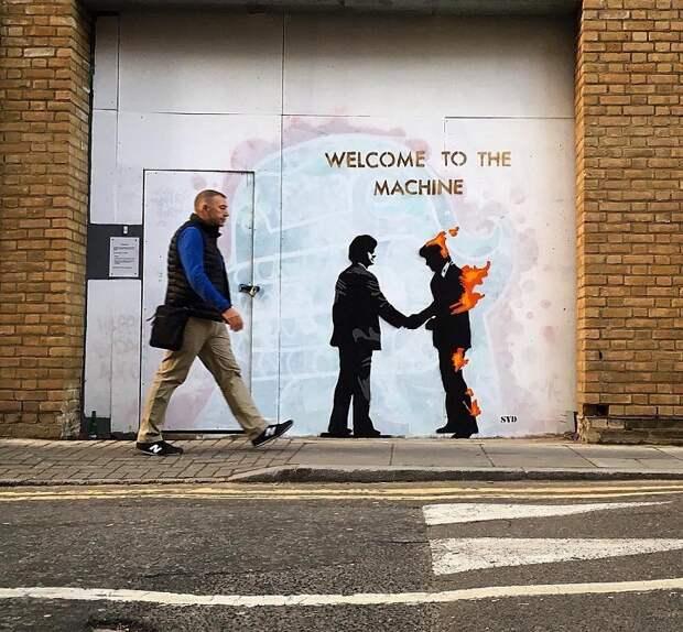 Повседневная жизнь обителей Лондона в серии стрит-фотографий