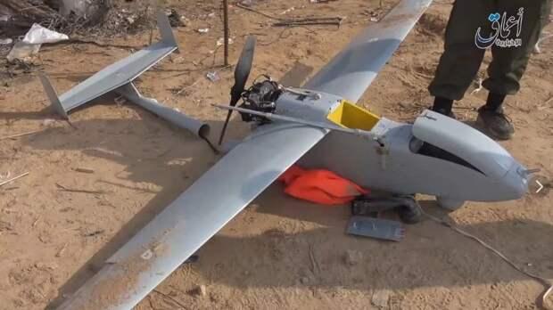 В Сирии идет война с активным применением беспилотных аппаратов