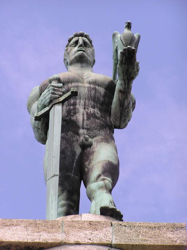 Памятник Победителю, Белград, Сербия, Европа