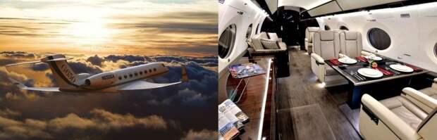 Самые роскошные самолёты в мире