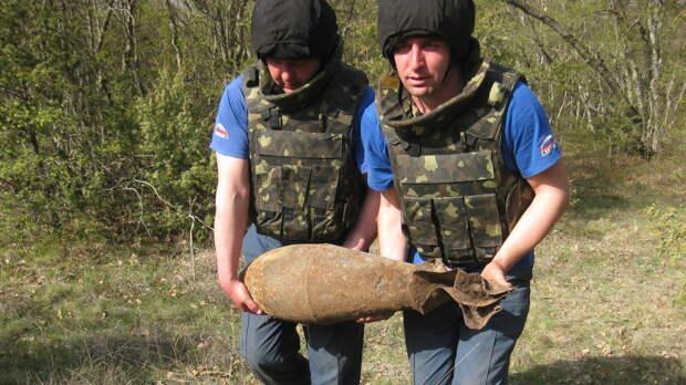 Более 200 килограммов боеприпасов времён ВОВ обезвредили в Крыму