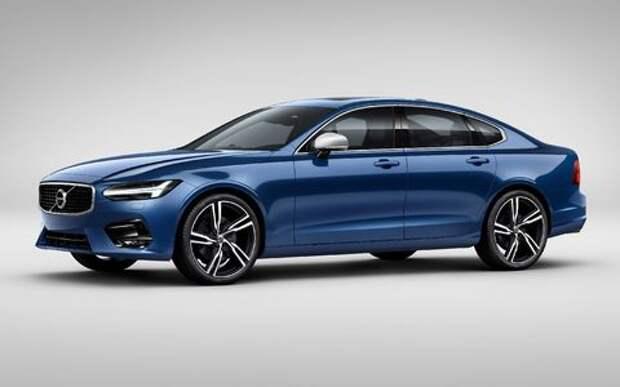 Volvo подготовила для флагманской модели спортпакет R-Design