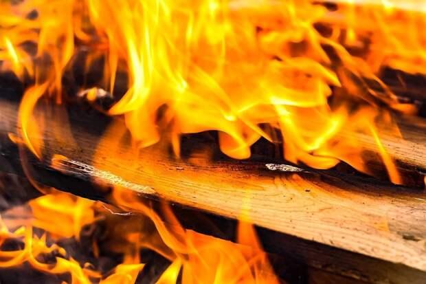 В Уве при пожаре погибла пожилая женщина