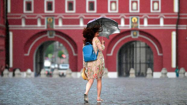 В Москве в воскресенье ожидается до +15°С