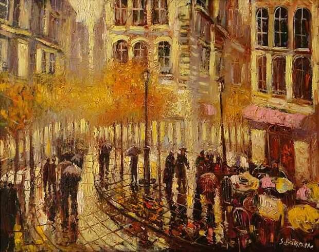 Яркие картины Байрама Саламова