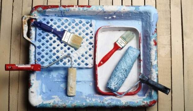 Мыло против краски.