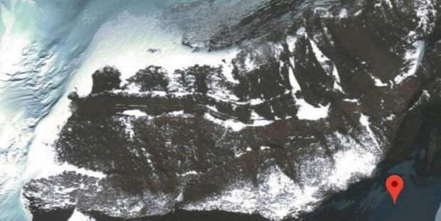 катаклизмы, антарктида, лед, google earth, континент, цивилизация