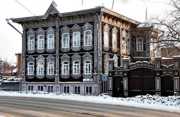 Русская деревянная архитектура.