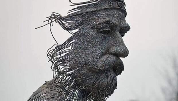 Проволочные скульптуры Дариуса Хулеа