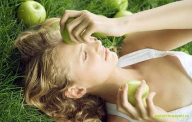 яблочные маски 300x192 Яблочный десерт для Вашей кожи