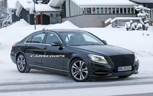 Помолодевший Mercedes-Benz S-класса извинится за опоздание новым дизелем