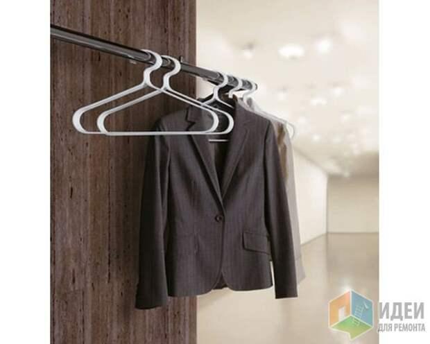 Идеи для хранения одежды, системы хранения в интерьере