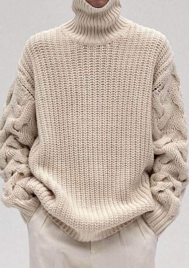 Для тех, кто вяжет: идеи модных фасоны свитеров для будущей осени.