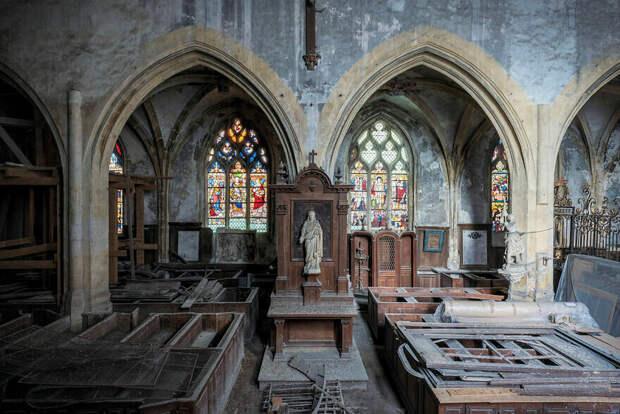 Церковь XIII века, Франция, Бургундия-Франш-Конте