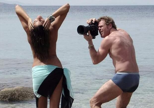 Закулисами эротической фотосессии журнала Playboy