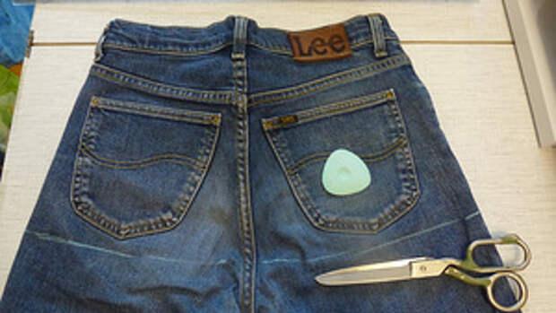 Джинсовая юбка1