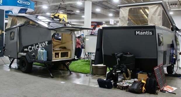 Внедорожные кемперы, захватившие выставку RVX 2019 авто, дома на колесах, кемпинг, отдых, прицепы, трейлер, трейлеры, фото