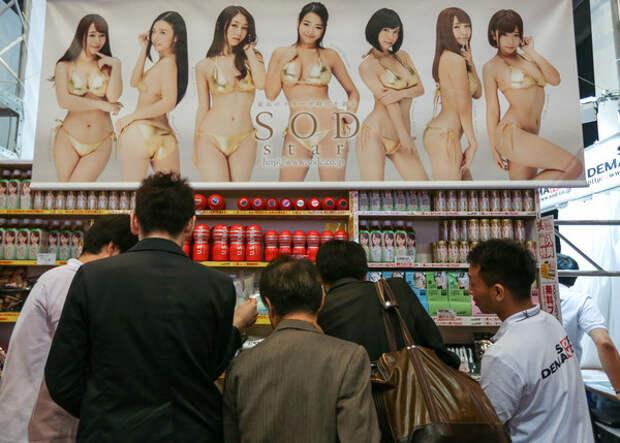 Эротическая выставка в Токио