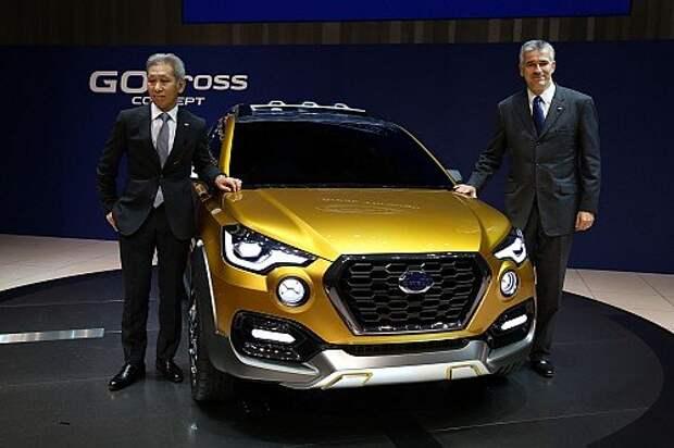 Datsun показал новый кроссовер GO-cross (ФОТО, ВИДЕО)