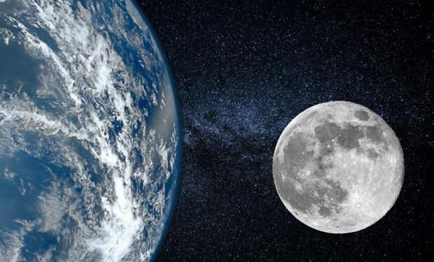 В глубине Луны нашли следы древней планеты