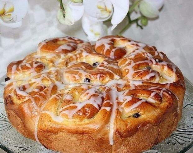 Этому ПИРОГУ меня научила бабушка моего мужа: пирог «УТРЕННЯЯ РОСА»