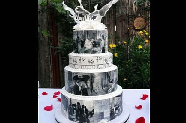 Свадебные торты, которые не хочется есть