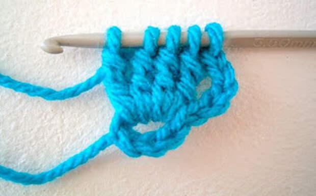 Баварское вязание крючком